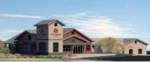 Rendering of the new location.